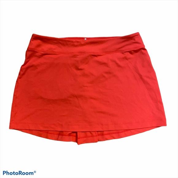 Nike women's golf athletic skirt medium pink